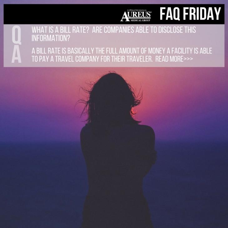 FAQ - Bill rate