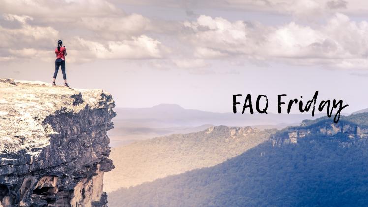 FAQ Friday - benefits